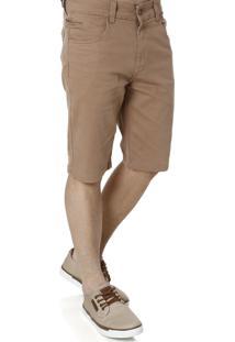 Bermuda Sarja Prs Jeans & Co Jeans & Co Caramelo