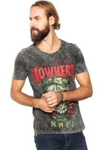 Camiseta John John Nowhere Cinza