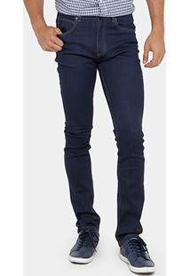 Calça Jeans Lacoste Slim Fit Masculina - Masculino-Jeans
