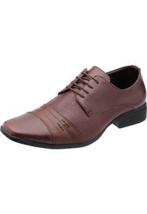Sapato Social Calçados Ruggero Fosco Café