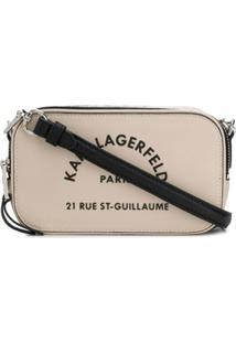 Karl Lagerfeld Bolsa Transversal Rue St Guillaume - Neutro