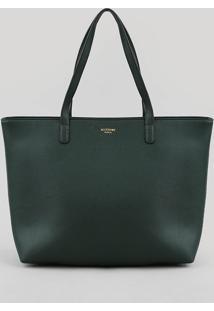 Bolsa Feminina Shopper Grande Verde Escuro - Único