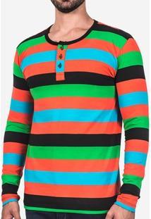 Camiseta Hermoso Compadre Henley Masculina - Masculino