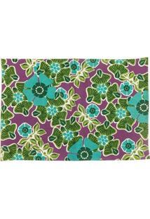 Jogo Americano Floral Colorido - 4 Peças