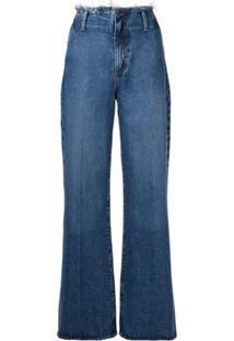 Nobody Denim Calça Jeans Pantalona Siena - Azul