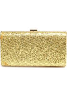 Bolsa Zariff Bags Clutch Dourado