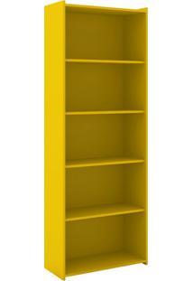 Estante Biblioteca Haritha Amarelo
