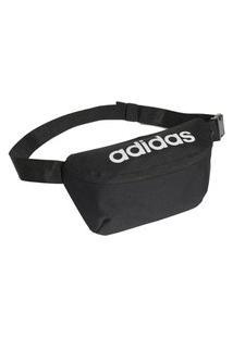 Pochete Adidas Daily Ge1113, Cor: Preto/Branco, Tamanho: Único