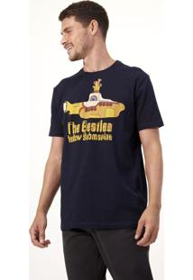 Camiseta Comfort Com Estampa The Beatles Yellow Submarine