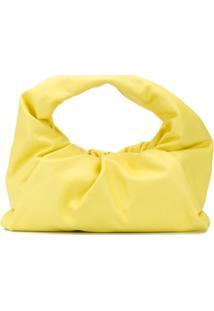 Bottega Veneta Bolsa The Shoulder Pouch - Amarelo