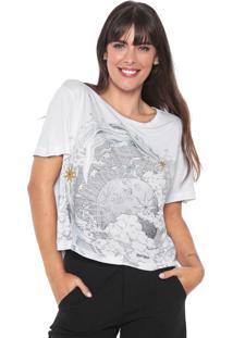Camiseta Cropped Lez A Lez Lua Branca