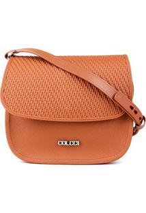 Bolsa Colcci Mini Bag Alaska Feminina - Feminino-Caramelo