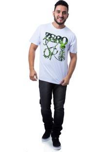 Camiseta Zero Street Artist Masculina - Masculino-Branco