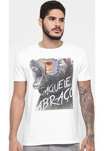 Camiseta Reserva Estampa Aquele Abraço! - Masculino