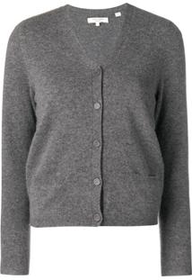 Chinti And Parker Cardigan De Cashmere - Cinza