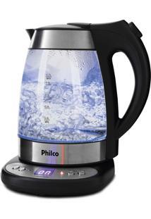 Chaleira Digital GlassPreta Com Prata Philco 220V Pchd