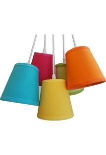 Luminária Cacho Colors Crie Casa Colorido