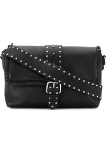 Red Valentino Leather Shoulder Bag - Preto