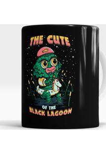 Caneca Black Lagoon Cute