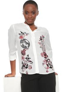 Camisa Desigual Randers Off-White