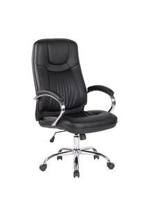 Cadeira Office Lyon Preta Rivatti