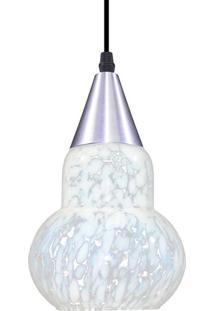 Luminária Pendente Taschibra Verona Aerado E27 Branca Bivolt