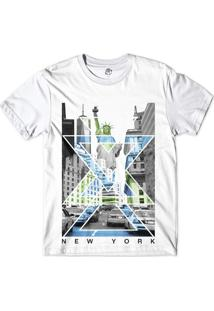 Camiseta Bsc Nova Iorque Capital De Tudo Sublimada Branco