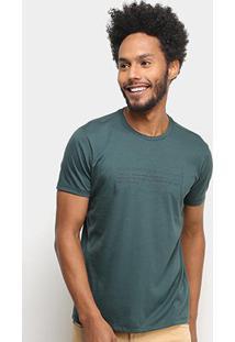 Camiseta Ellus Since1972 Masculina - Masculino-Verde Escuro