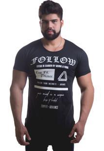 Camiseta Advance Follow Preta