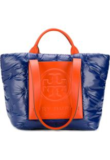 Tory Burch Perry Bombe Shoulder Bag - Azul