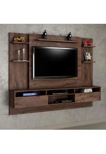 Painel Para Tv 60 Polegadas Status Castanho 217 Cm