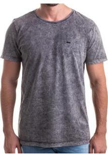 Camiseta Clothis Cologne Z-11 Marmorizada Masculina - Masculino-Grafite