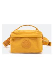 Pochete Bolso Frontal | Satinato | Amarelo | U