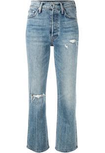 Mother Calça Jeans Bootcut The Tripper - Azul