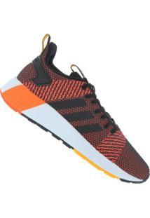 Tênis Adidas Questar Byd - Masculino - Preto/Laranja Esc