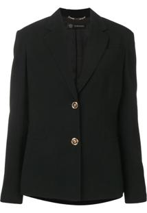 Versace Blazer Clássico - Preto