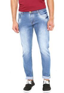 Calça Jeans Fiveblu Slim Olynpia Azul