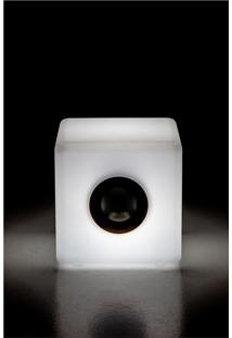 Luminaria Banco/Cubo 2 M/The Lamp White Cubo Wi-F - 30X30X30