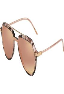 Óculos De Sol Dolce & Gabanna Rosa Dg4330 52534Z22
