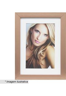 Porta Retrato Insta- Bronze & Branco- Tamanho Da Fotkapos