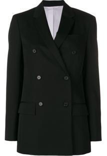 Calvin Klein 205W39Nyc Blazer Com Botões Duplos - Preto