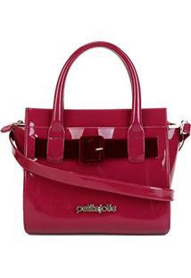 Bolsa Petite Jolie Love Bag Feminina - Feminino-Pink