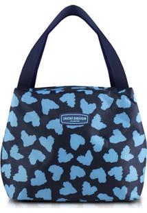 Bolsa Tã©Rmica Jacki Design Bem-Estar Azul - Azul - Dafiti