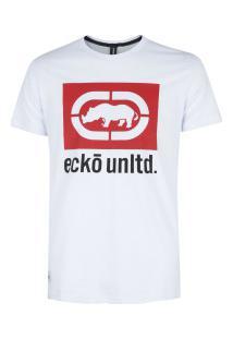 Camiseta Ecko Estampada E505A - Masculina - Branco