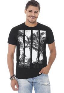 Camiseta Masculina Preto