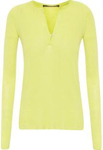 Blusa Feminina Raglan Colors - Verde