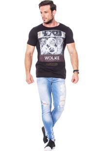 Camiseta Wolke Gola Careca Watching