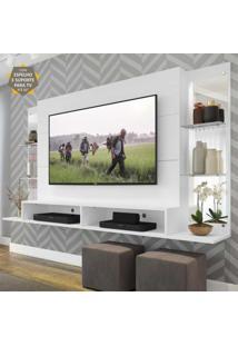 "Painel Tv 60"" C/ Suporte, Espelho, Prat. Nairóbi Multimóveis"