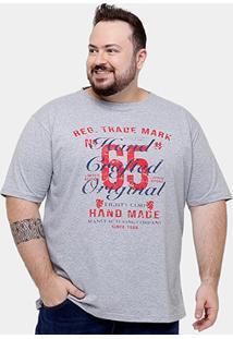 Camiseta Eagle Brasil 65 Original Plus Size Masculina - Masculino