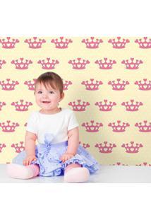 Papel De Parede Coração De Princesa Clean